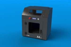 The medium-size 3ntr A4v3 printer allows producing 3D objects with a maximum format of 300x200x200 millimetres