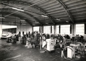 Omlat was established in Turin in 1940 as small mechanical workshop for the manufacturing of spindle shafts for machine tools.