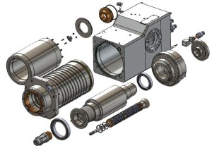 Each electrospindle is designed and developed according to the specific machining requirements of the companies and of the machine tools using them.