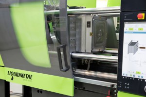 ENGEL e-motion 110 press with mould by the company Saga S.p.A. at Cadoneghe (PD)