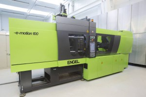 Engel e-motion 110 press for the moulding of Liquidmetal alloys.