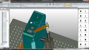 FixtureBuilder 3D-modelling software renishaw