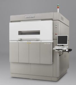 The Ricoh AM S5500p laser sintering system