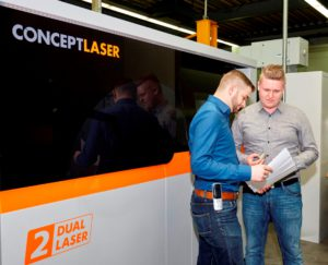 The nucleus of 3D metal printing production in Pinneberg: a M2 cusing Multilaser machine at Jung & Co. The overall package of technology, safety concept and partnership tipped the balance for Concept Laser