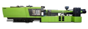 The ENGEL e-speed 500/90 produces 16 cartridges with one shot. Thanks to IML integration, the cartridges leave the machine ready for filling