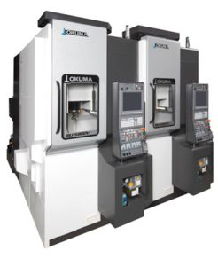 2.The Okuma MU-S600V is designed to stand at the heart of a smart factory, accommodating production formats ranging from high-mix, low volume to mass production