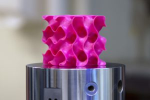 Massachusetts Institute of Technology researcher developed a potential new structural plastic using 3-D printers and graphene