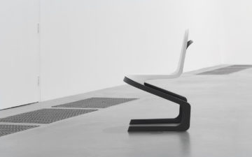 Double cantilever chair concept leverages developed in collaboration with DuPont Performance Materials