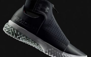 EOS and Under Armour develop 3D printing footwear