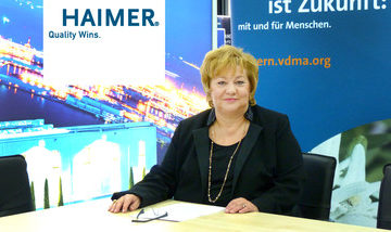 Claudia Haimer is the New Chairwoman of the Board of VDMA Bavaria